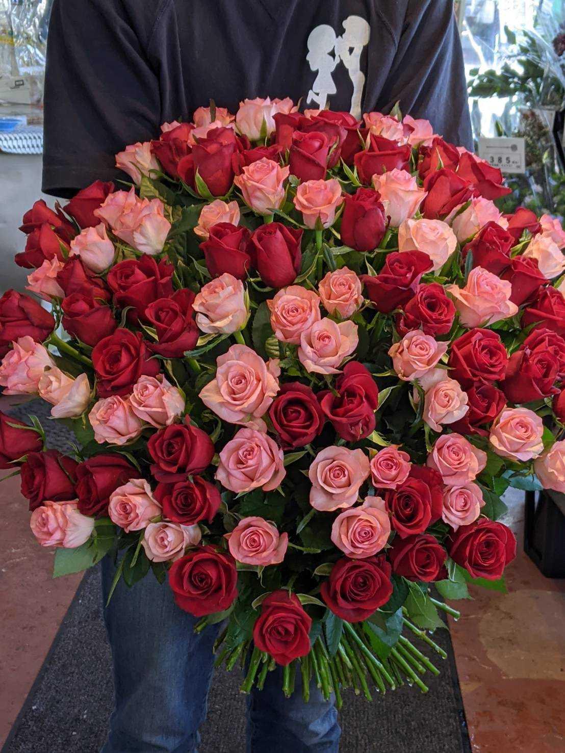 花束を納品いたしました