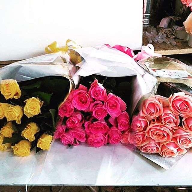 仙台国際ホテルへ沢山の花束をお届けしました。
